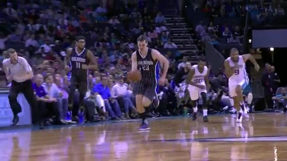 Marble Steals, Hezonja Slams vs Hornets