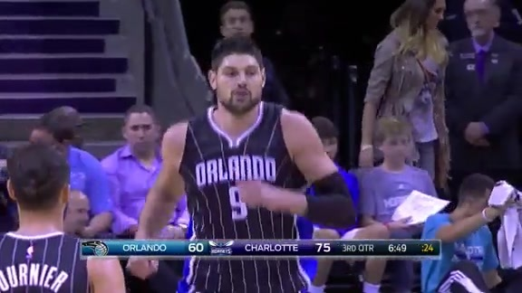 Highlights: Vucevic vs Hornets
