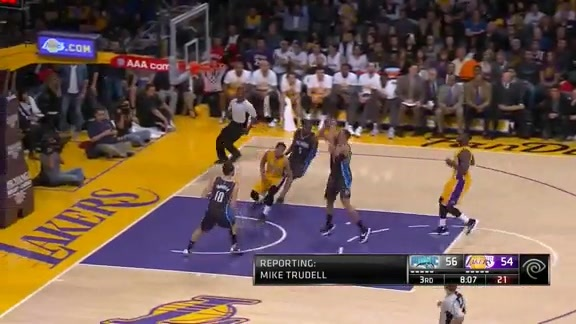 Aaron Gordon Fast Break Dunk vs. Lakers