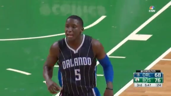 Victor Oladipo Off-Screen Jumper