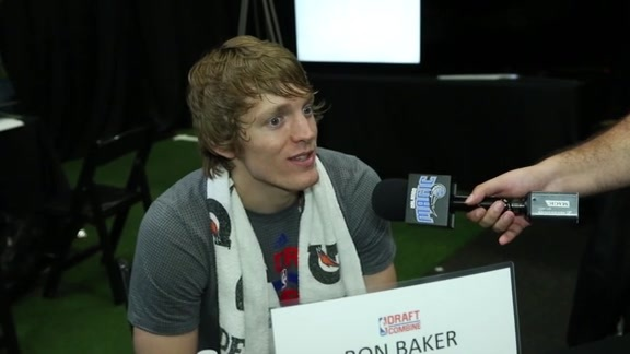 Ron Baker: NBA Draft Combine