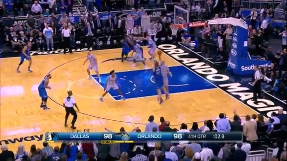 2015-16 Best Defensive Plays: Gordon on Nowitzki