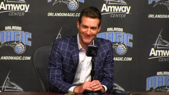 Orlando Magic Pre-Draft Press Conference