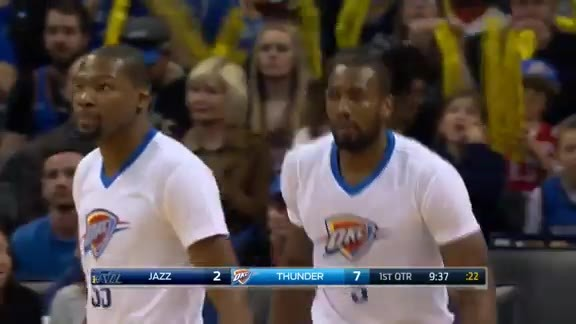 Serge Ibaka From 3-Point Range