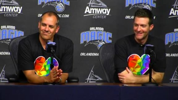 Orlando Magic Post-Draft Press Conference