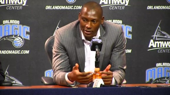 Bismack Biyombo's Introductory Press Conference