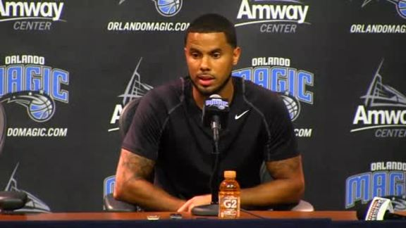 D.J. Augustin's Introductory Press Conference