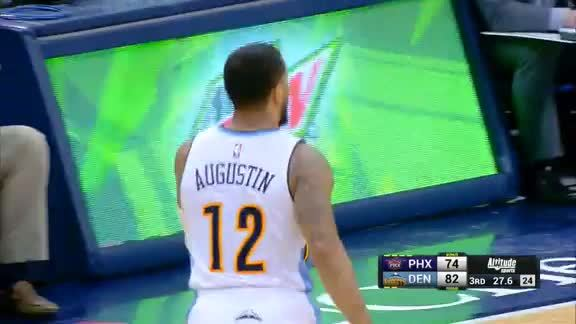 D.J. Augustin Buries 3-Pointer