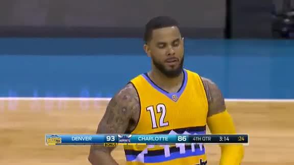 D.J. Augustin Sweet Pass to Gary Harris
