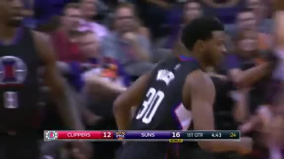 C.J. Wilcox Buries 3-Pointer