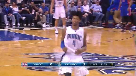 Elfrid Payton Steal and Dunk
