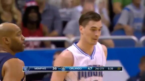 Mario Hezonja Drills 3-Pointer