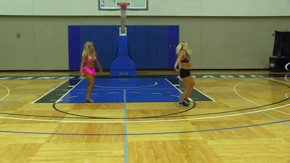 Orlando Magic Dancer Auditions: Mackenzie and Taylor