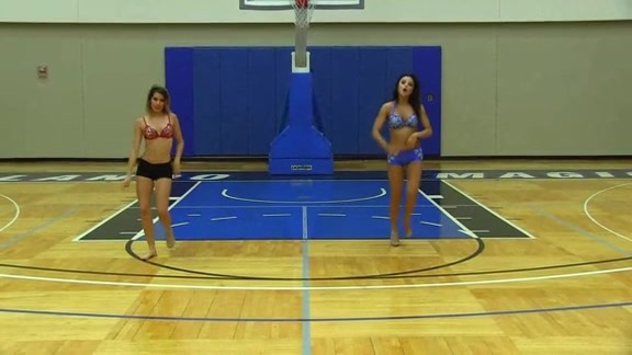 Orlando Magic Dancer Auditions: Molleigh and Olivia