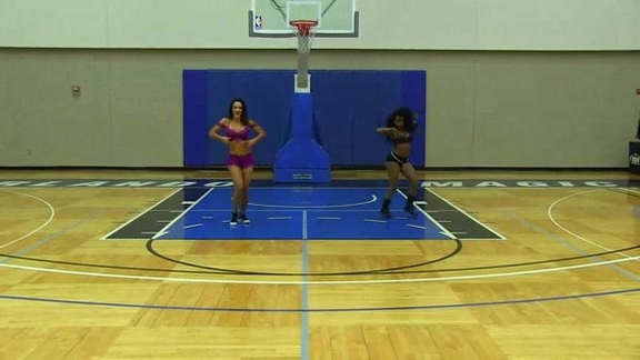 Orlando Magic Dancer Auditions: Nicole H. and Victoria R.