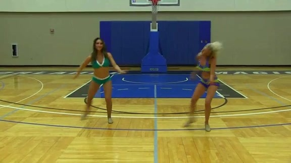 Orlando Magic Dancer Auditions: Sarah and Nicole F.