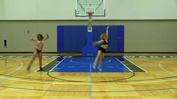Orlando Magic Dancer Auditions: Stephanie and Nikki