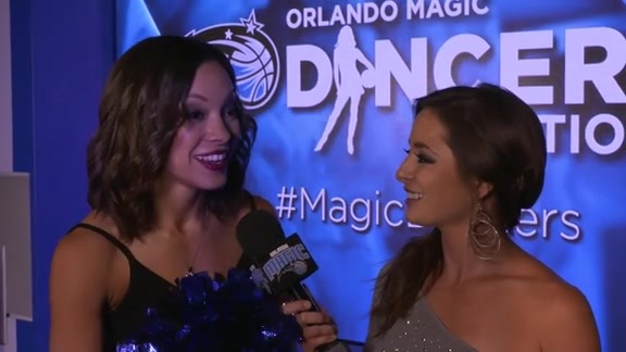 Magic Dancer Audition Finals: Desiree
