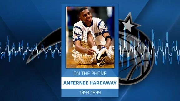 Penny Hardaway on Magic Drive Time
