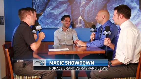 Magic Showdown: Horace Grant vs Rashard Lewis