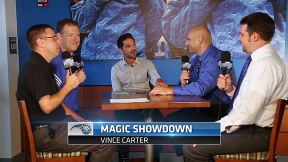 Magic Showdown: Vince Carter