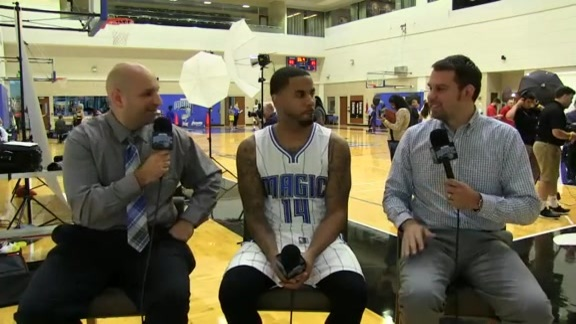 Magic Media Day: D.J. Augustin