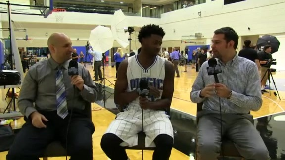 Magic Media Day: C.J. Wilcox