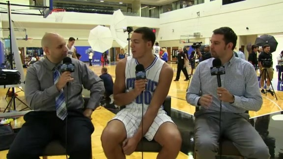Magic Media Day: Aaron Gordon