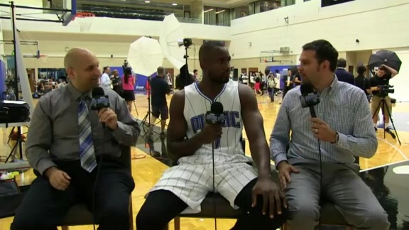 Magic Media Day: Serge Ibaka