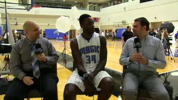 Magic Media Day: Jeff Green