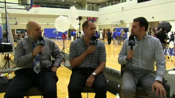 Magic Media Day: Frank Vogel