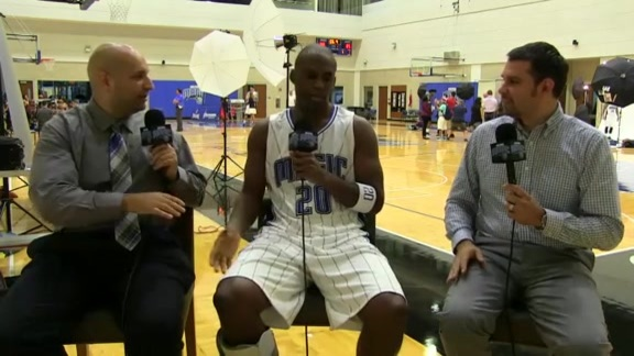 Magic Media Day: Jodie Meeks