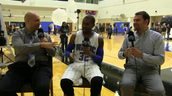 Magic Media Day: C.J. Watson