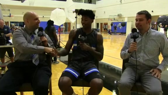 Magic Media Day: Elfrid Payton