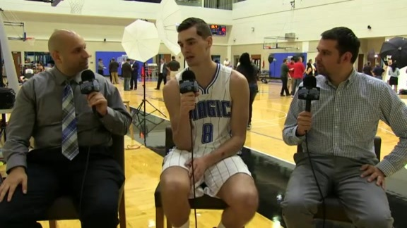 Magic Media Day: Mario Hezonja