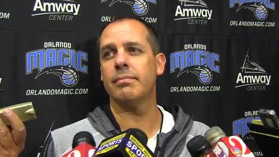 Frank Vogel: Camp Day 1