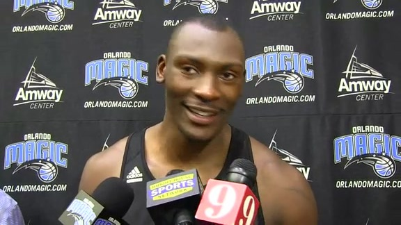 Bismack Biyombo: Camp Day 1