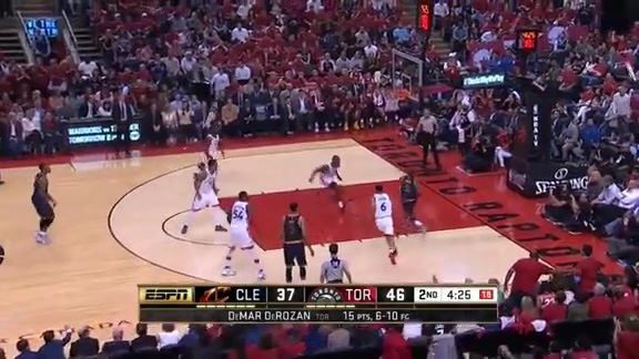 Bismack Biyombo Blocks Kyrie Irving