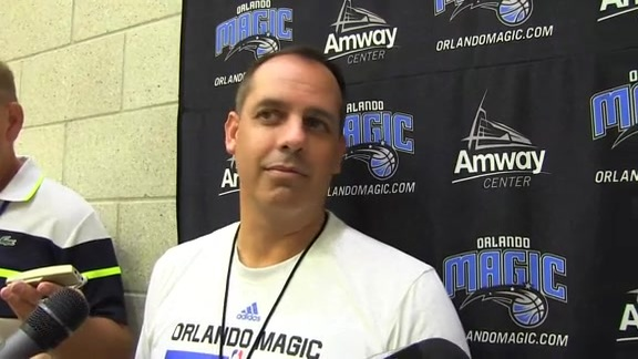 Frank Vogel: Camp Day 4