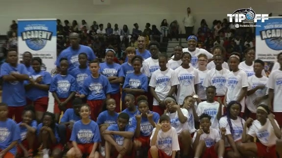 Afflalo, Gordon Participate in Magic's Youth All-Star Skills Challenge