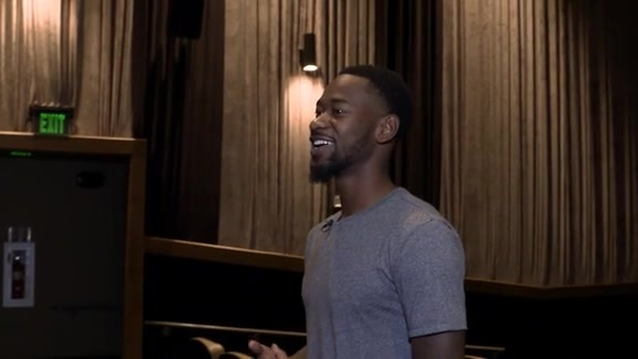 Terrence Ross Takes New Image Youth Center Kids to Movies