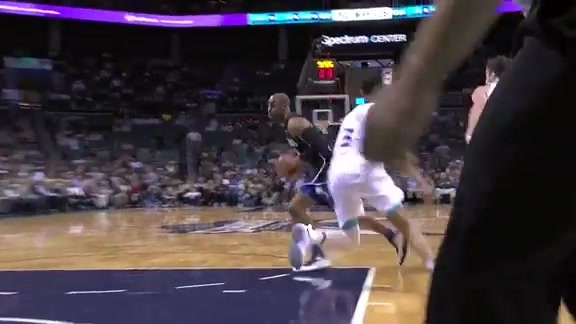 Afflalo Hits The Spin Cycle