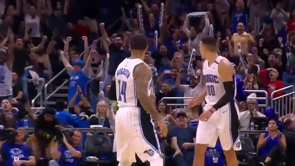 Play of the Day: Augustin Sends It To OT