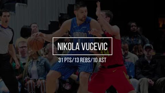 Sound Off: Vucevic's Triple-Double