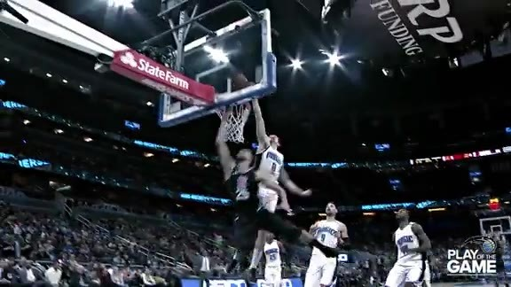 Play of the Game: Hezonja Rejects Rivers