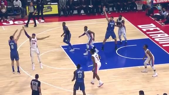 Game Highlights: Magic at Pistons
