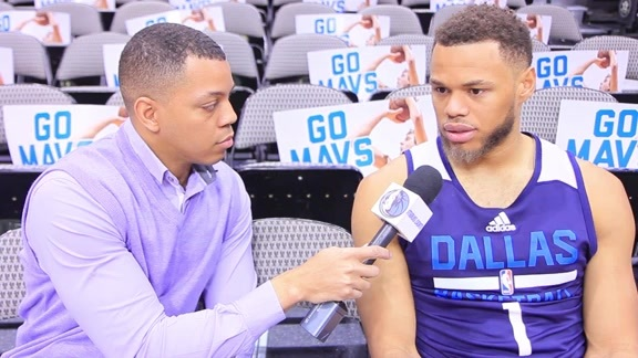 One-on-one with Justin Anderson