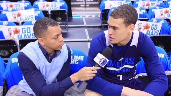One-on-one with Dwight Powell