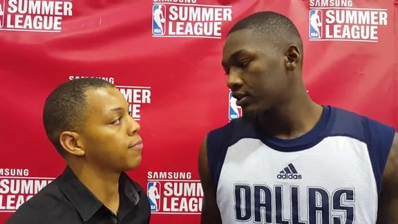 One-On-One with Dorian Finney-Smith