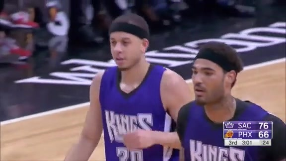 The Seth Curry Show in Phoenix